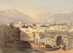 Interior of the City of Kandahar, from the house of Sirdar Meer Dil Khaun